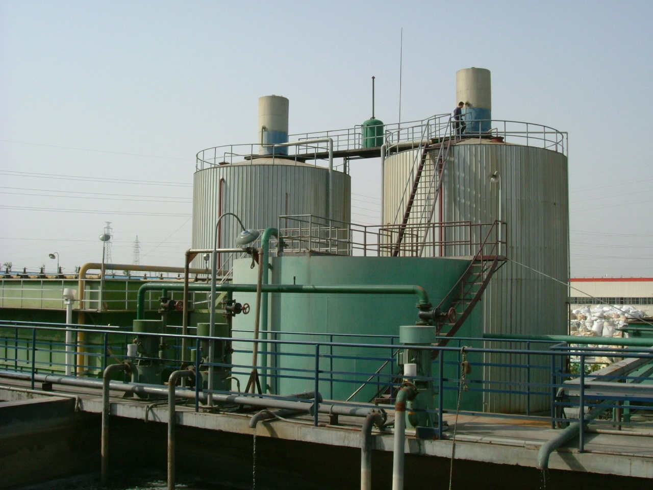 沼气发酵罐案例