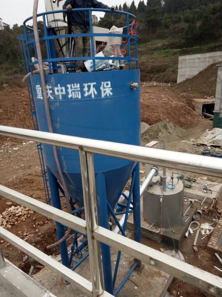 四川西充县60000吨自来水厂