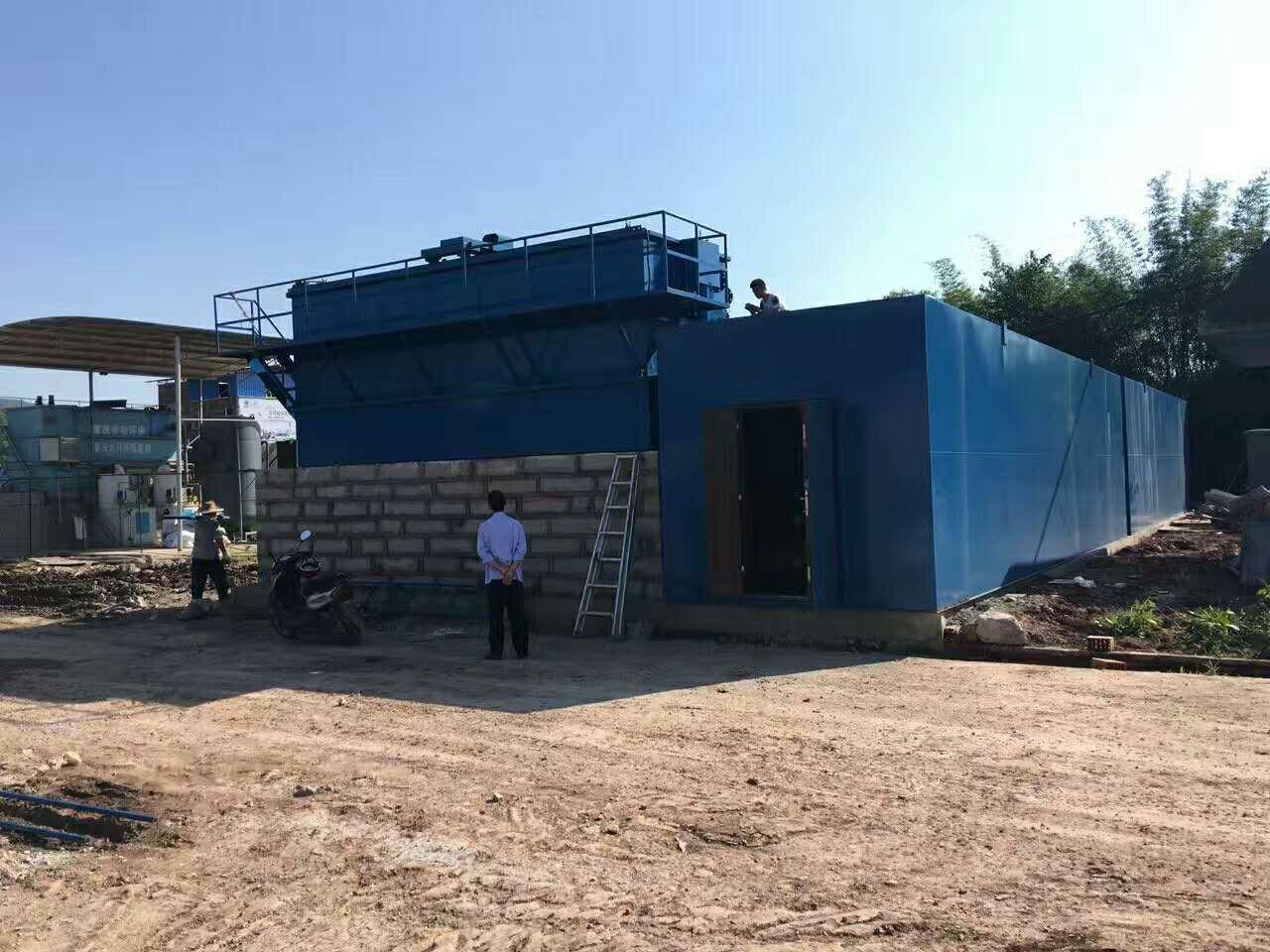 荣昌工业园区500吨一体化污水处理设备